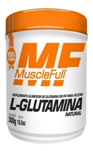L-Glutamina 300g - Muscle Full