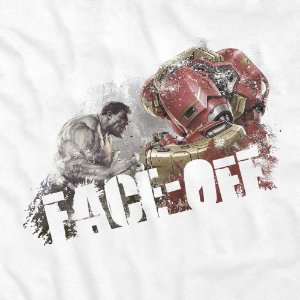 Camiseta Face OFF