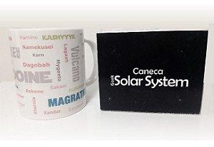 Caneca Geek Solar System