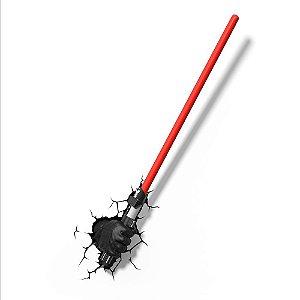 Luminária Star Wars Sabre Darth Vader
