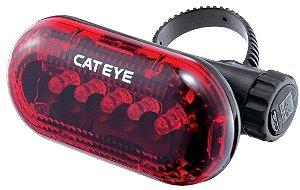 VISTA LIGHT TL LD150R RED 5 LEDS COM BATERIA CATEYE
