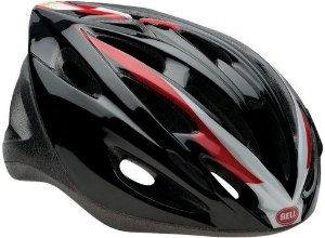 CAPACETE BELL SOLAR RED/BLACK
