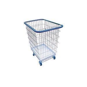 Carrinho para Compras com Proteção Lateral 300 litros