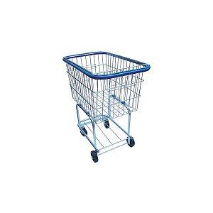 Carrinho para Compras Simples com Proteção Lateral