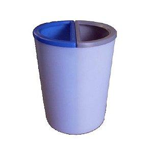 Lixeira MIX 25 litros com 2 divisões