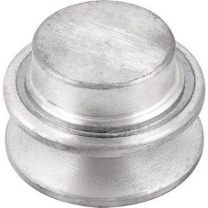 Polia de alumínio 1 canal A - 50 mm - Mademil