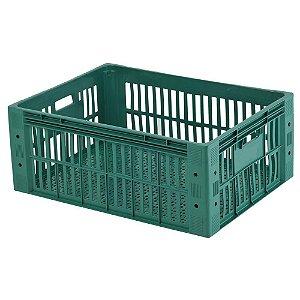 Caixa Plástica Vazada HFG 115 litros Verde - PN115