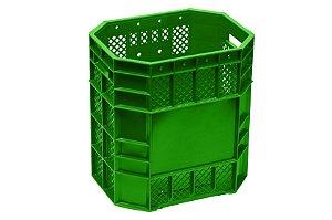 Caixa Plástica Vazada 70 Litros Verde - PN70