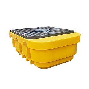 Pallet de contenção para IBC ou 4 tambores 1000 litros