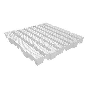 Estrado plástico 40x40cm branco