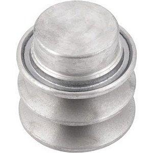Polia de Alumínio 2 Canais B 50 mm Mademil