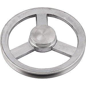 Polia de alumínio 1 canal A - 110 mm - Mademil