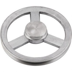 Polia de alumínio 1 canal A - 115 mm - Mademil