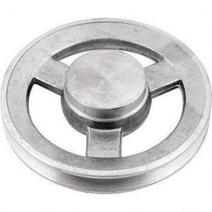 Polia de alumínio 1 canal A - 150 mm - Mademil