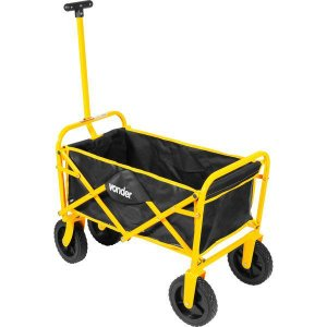 Carrinho para carga dobrável com bolsa 60kg - Vonder