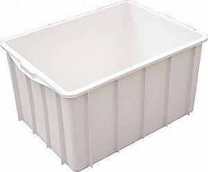 Caixa plástica 180 litros - Branca
