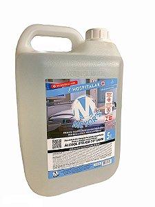 Álcool Líquido Etílico Hidratado 70° INPM 5 litros Meyors