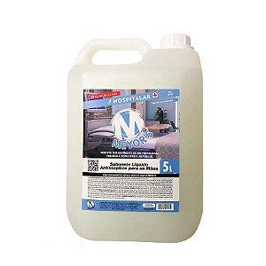 Sabonete líquido antisséptico bactericida para mãos com Triclosan 5l