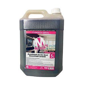 Desinfetante concentrado Quaternário de Amônio Lavanda 5l