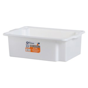 Caixa plástica organizadora multiuso 25 litros - Rischioto