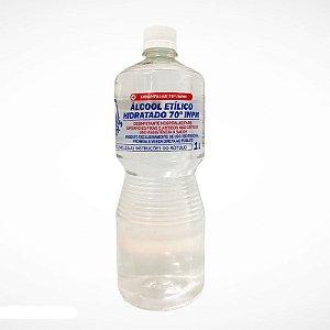 Álcool Líquido Etílico Hidratado 70° INPM 1 litro Meyors