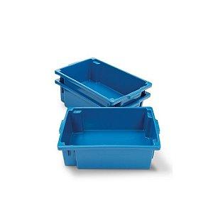 Caixa plástica fechada 40 litros
