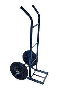 Carrinho armazém 200kg rodas pneumáticas