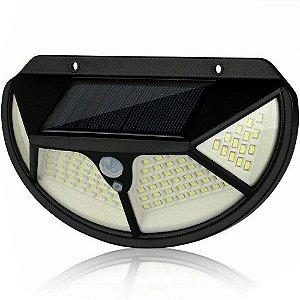 Luminária Solar de Parede Externa 25w 102 Leds Acendimentos Automático - 82931