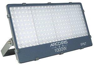 Refletor Holofote Microled 1000w Branco Frio IP67 - 82728