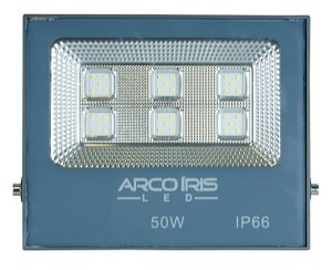 Refletor Multifocal  Super Led 50w Branco Frio - 61001