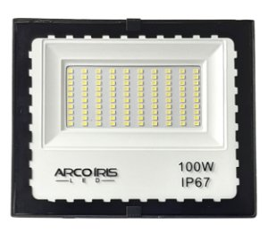 Refletor Led Mini Floodlight 100w Branco Frio Ip67 - 82929