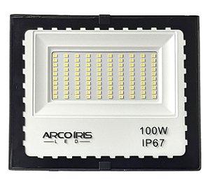 Refletor Led Mini Floodlight 100w Branco Frio Ip67 - 82929