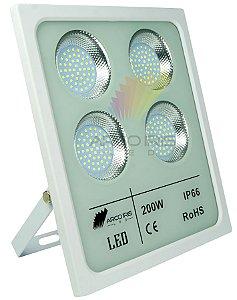 Refletor Holofote Micro Smd 200w IP66 Branco Frio - 82900