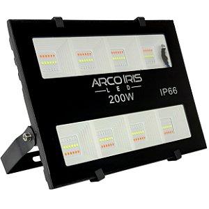 Refletor Microled 200w Rgbw Colorido IP66 - 82730