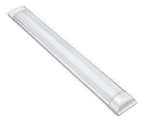Luminária Led Calha 40w Luz Fria 6500k Bivolt 120x8cm - 81482