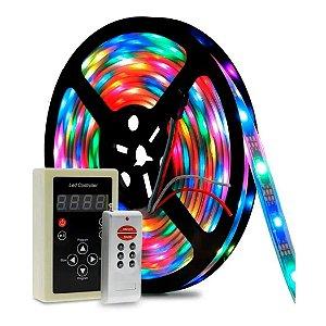 Fita LED Colorida RGB 329 Efeitos 5m IP68 À Prova D'água - 83200