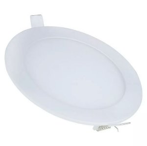 Plafon Led 12w Redondo Embutir Branco Frio - 81205