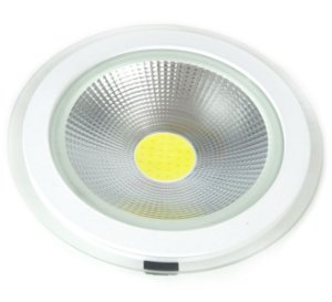 Spot Led Cob Down Light 20w Redondo Branco Frio - 81317-1