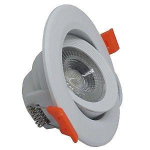 Spot LED 7w Redondo de Embutir Branco Frio - 81201