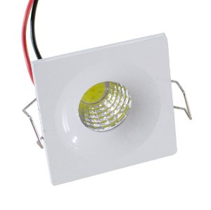 Spot LED Bidirecional 3W Quadrado - 81908