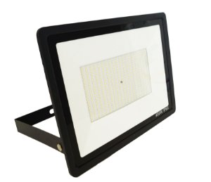 Refletor Led 400w Micro Smd IP66 Branco Frio Bivolt Preto - 66007-1