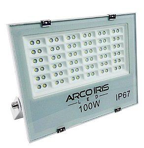 Refletor Holofote Microled 100w Multifocal Branco Frio Ip67 - 82174