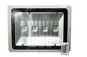Refletor Led Holofote 200w Bivolt IP66 Rgb Colorido - 81692
