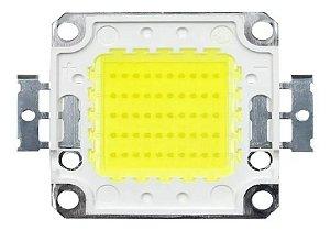 Chip Led 50w Reposição De Refletor 50w Branco Frio Bivolt - 83121