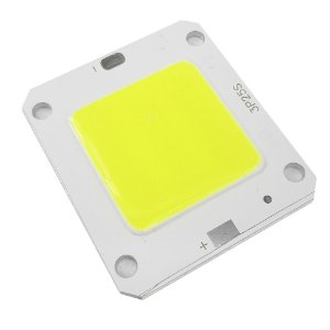 Chip Led 50w para Reposição de Refletor Holofote Led  Verde - 83128