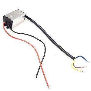Reator para Refletor Led 50w para Manutenção e Reposição Branco Frio - 83116