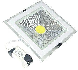 Luminária 15w Embutir/Sobrepor Branco Frio - 80641
