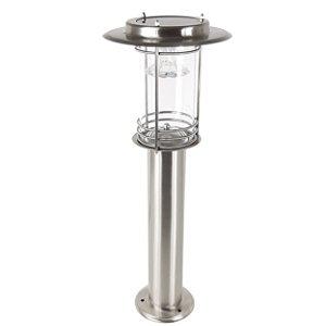 Luminária Solar Balizador Led 60cm Decoração Jardins - 82505