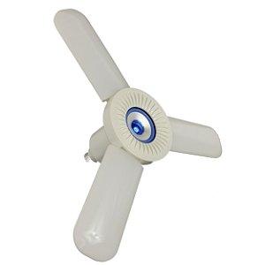 Lâmpada LED 36W RGBW Colorida Fan Blade Bivolt com Controle - Azul - 82294