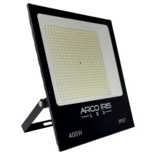 Refletor Super Led Slim 400w Branco Frio IP67 - 82358